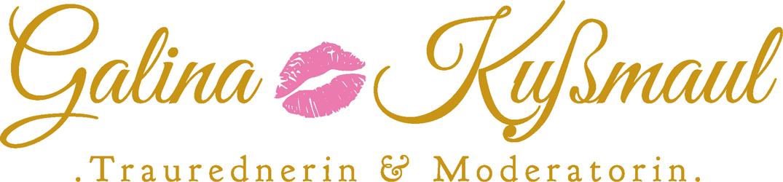 Logo der Traurednerin, Hochzeitsplaner und Moderatorin Galina Kußmaul für Freie Trauung